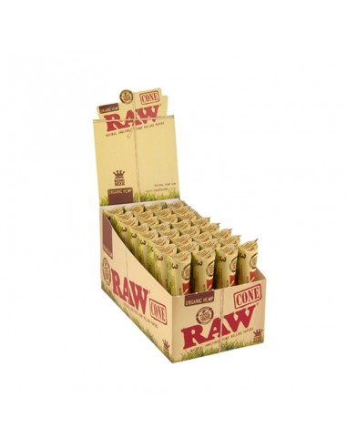 Raw Bulk Cones KS - Organic Hemp (32 units of 3 cones)