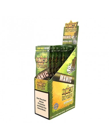 Juicy Hemp Wraps - Manic (2x25 per box)