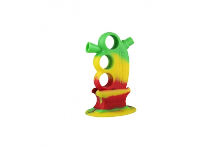 Pulsar RIP Knuckle Bubbler with Matching Stand - Rasta