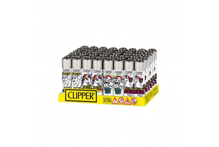CLIPPER Classic - Amazing Unicorn Rainbow - Display of 48