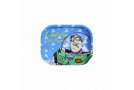 Metal Rolling Tray - To Infinity And Beyond - Small