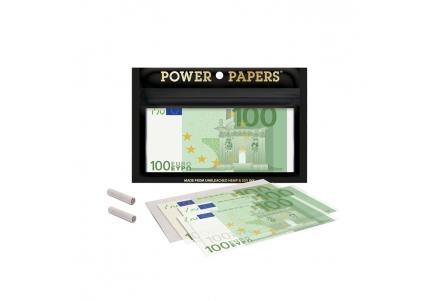 Papeles de Liar Euro con Boquillas - Caja con 12 bolsas