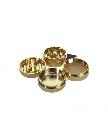 Real 24K Luxury Gold 4 Part Grinder 55mm