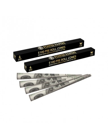 Dollar Pre Rolled Cones - Display of 24 Boxes