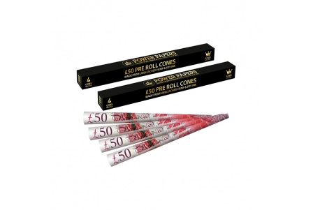 Pound Sterling Pre Rolled Cones - Display of 24 Boxes