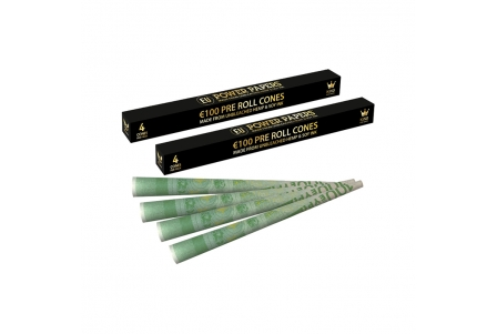 Euro Pre Rolled Cones - Display of 24 Boxes