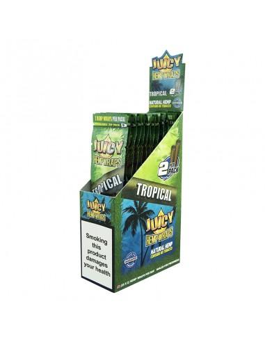 Juicy Hemp Wraps - Tropical (2x25 per box)