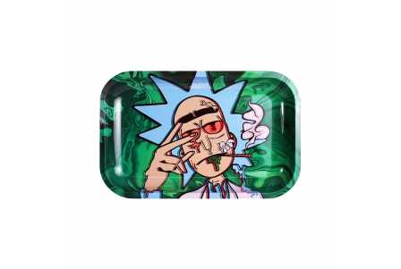 Metal Rolling Tray - R Dankchez - Medium