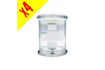 Glass Jar 350ml - Box of 4