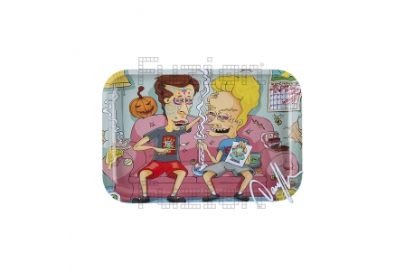 Dunkees Rolling Tray - Dab of Dead - 30x20cm