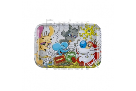 Dunkees Rolling Tray - Secret Stash - 30x20cm
