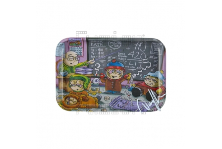 Dunkees Rolling Tray - Life Lessons - 30x20cm