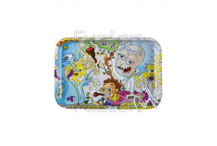 Dunkees Rolling Tray - Get Schwifty - 30x20cm