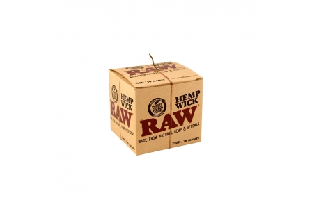 Raw Hemp Wick Ball 76m - 1 unit
