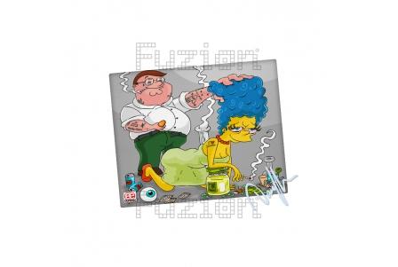 Dunkees Karma Canvas Print - 20x25cm