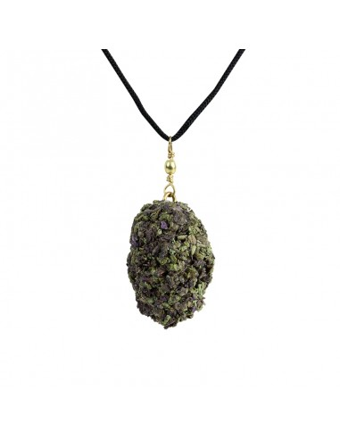 Buddies 420 Bling Necklace - Grandaddy Purple