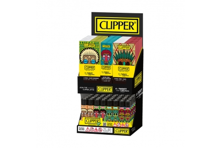 CLIPPER 4 Twenty Display - African Masks