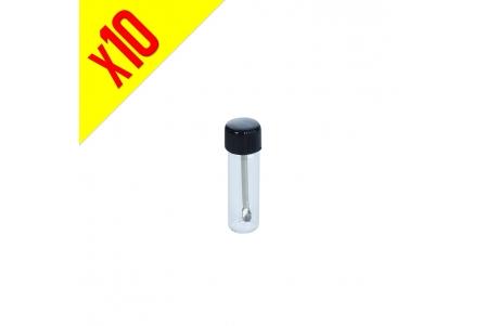 Glass Vial Spoon 5cm - Pack of 10