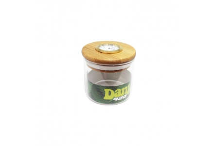 Dank 420 Hygrometer Glass Jar - 72x70mm