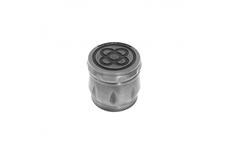 4 Part Embossed Grinder 43x40mm - Flower BCN