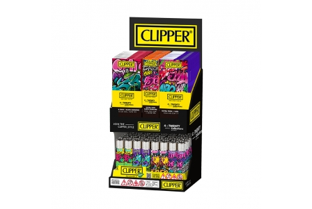 CLIPPER 4 Twenty Display - Graffiti Wall