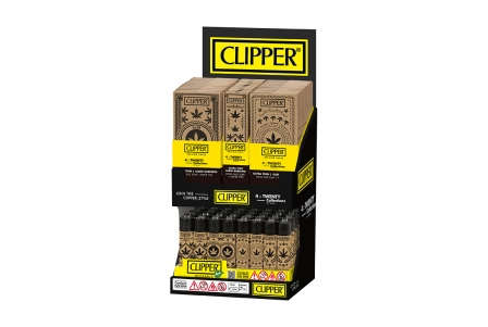 CLIPPER 4 Twenty Display - Weed Stamps