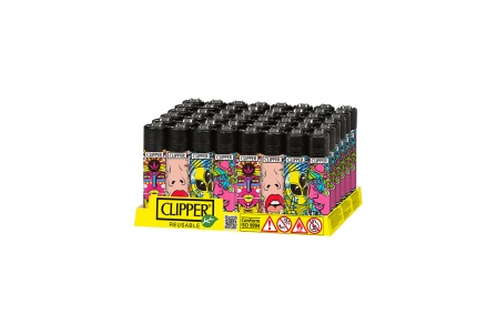 CLIPPER Classic Psychedelic 2 - Display of 48