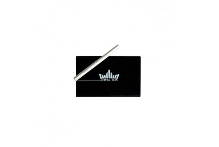 Royal Box with Aluminium Pipe - Black