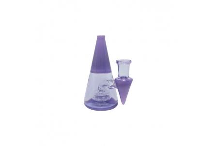 Mini Pyramid Rig 11cm - Purple