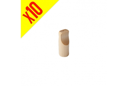 Personal Wooden Tip - Pack of 10