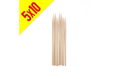 Brocheta Grande de Bambú - Bolsa de 5x10