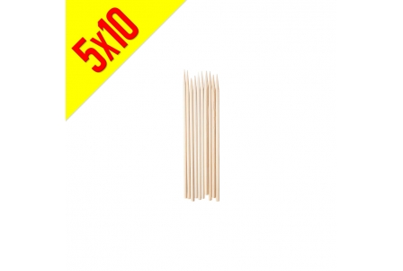 Brocheta Pequeña de Bambú - Bolsa de 5x10