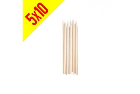 Personal Bamboo Skewer - Bag of 5x10