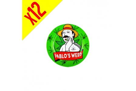 Cenicero de Estaño Pablo's W - 12pzs