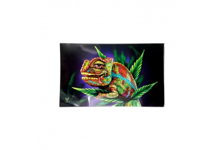 Glass Rolling Tray - Stoned Chameleon - L 26x16cm