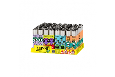 CLIPPER Classic Monster Weed 2 - Display of 48