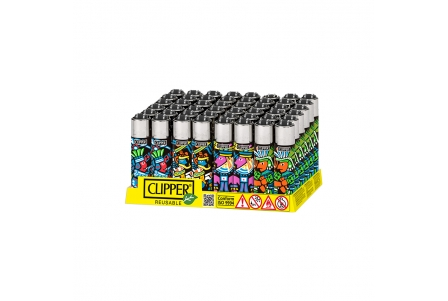 CLIPPER Micro Aztecas - Display of 48