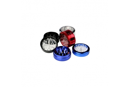 2 Part Push ClearView Grinder 40x22mm - Display of 12