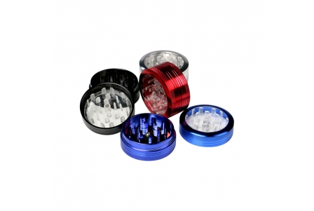 2 Part Push ClearView Grinder 50x22mm - Display of 12