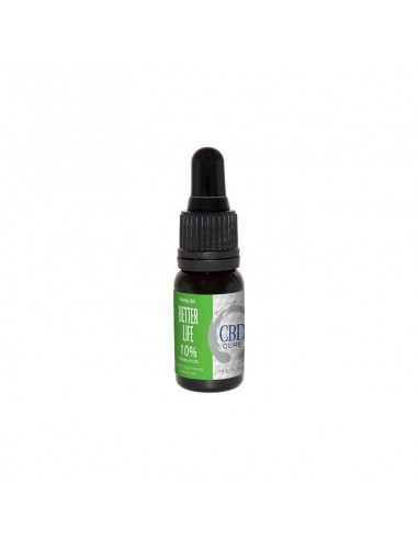 CBD Cure Hemp Oil 10% - Better Life -...