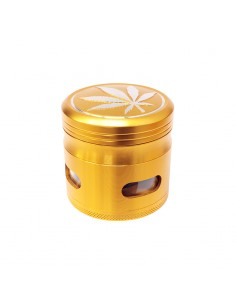 4 Part Grinder 63mm - Gold...
