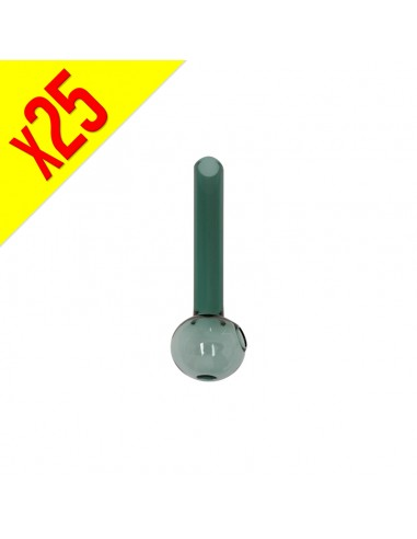 Smack Crystal Green Pipe - 10cm -...