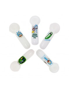 RM White Crystal Pipe -...