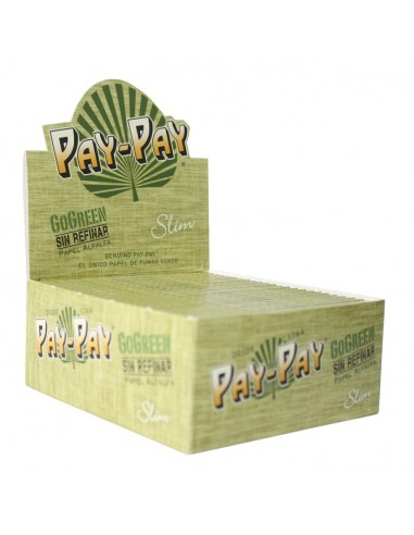 Papel Pay-Pay GoGreen Slim (50 booklets)