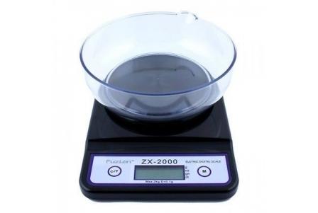 Fuzion ZX 2000g x 0.1g - Black