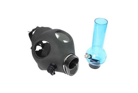 Black Mask with Pipe