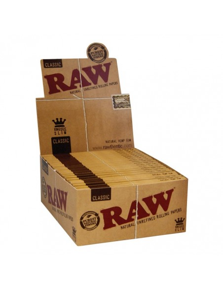 Raw King Size Slim - 50 Booklets