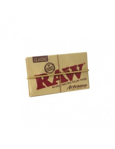 Raw Artesano 1 1/4 + Tips - 15 Booklets