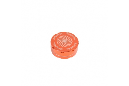 2 Part Spyräl Grinder 17 x 55mm (2.2) - Orange