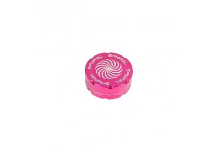 2 Part Spyräl Grinder 17 x 55mm (2.2) - Pink